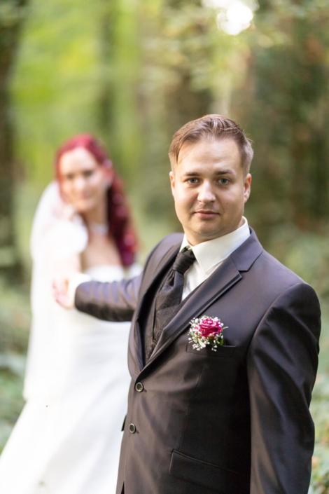 Brautpaar am Schloss Storkau
