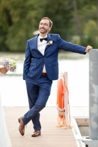 Hochzeit, Bräutigam Portrait