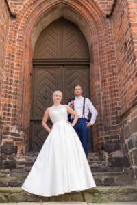 Hochzeit, Paarfoto in Stendal