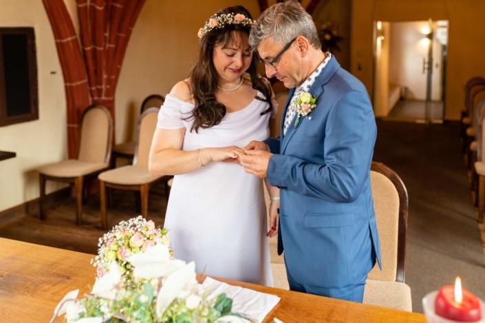 Hochzeitsreportage Tangermünde | Ringtausch