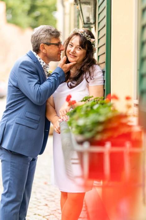 Hochzeit Tangermünde | Portrait des Brautpaares