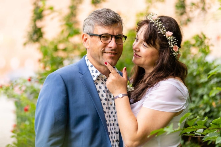 Hochzeitsreportage Tangermünde | Portrait des Brautpaares