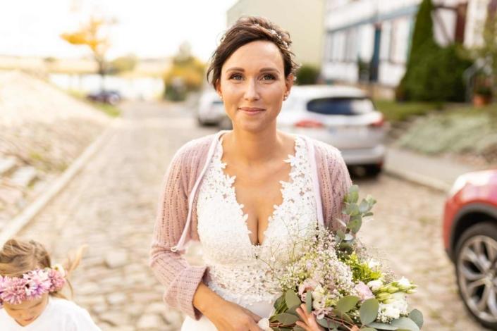 Hochzeit in Tangermünde - Ankunft der Braut