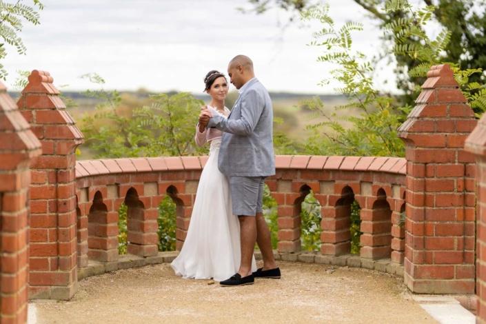 Hochzeit in Tangermünde - Brautpaarshooting im Schlosspark