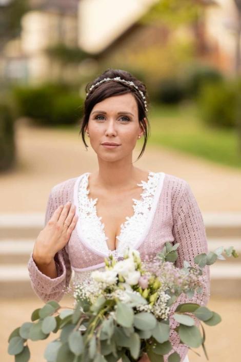 Hochzeit in Tangermünde - Braut im Schlosspark